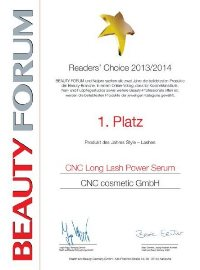 Beauty Forum 1. Platz
